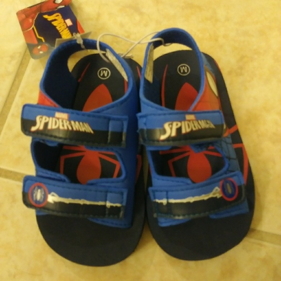 Marvel Other - Boys toddler sandals. Spiderman